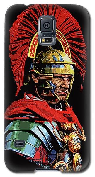 Roman Centurion Portrait Galaxy S5 Case