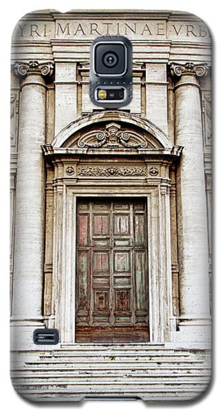 Galaxy S5 Case featuring the photograph Roman Doors - Door Photography - Rome, Italy by Melanie Alexandra Price