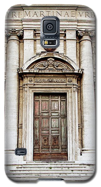 Roman Doors - Door Photography - Rome, Italy Galaxy S5 Case by Melanie Alexandra Price
