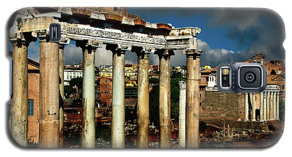 Galaxy S5 Case featuring the photograph Roman Forum by Harry Spitz