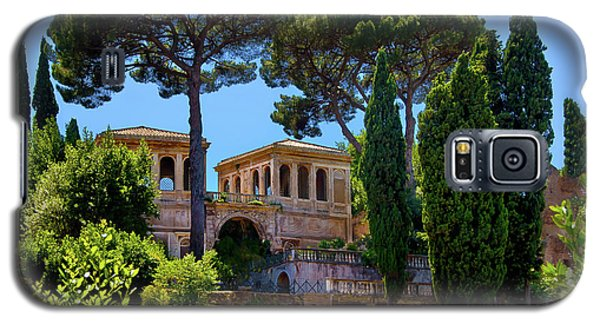 Galaxy S5 Case featuring the photograph Roman Forum Hillside  by Harry Spitz
