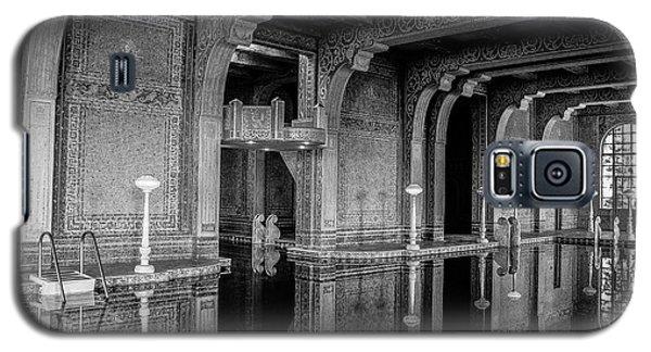 Roman Pool, Black And White Galaxy S5 Case