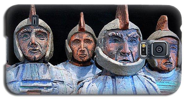 Roman Warriors - Bust Sculpture - Roemer - Romeinen - Antichi Romani - Romains - Romarere Galaxy S5 Case by Urft Valley Art