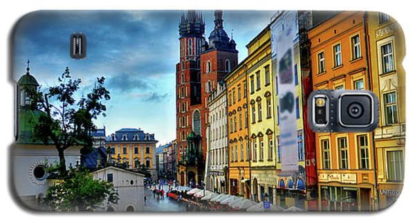 Romance In Krakow Galaxy S5 Case by Kasia Bitner