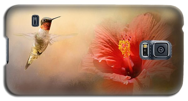 Romancing The Hibiscus Galaxy S5 Case
