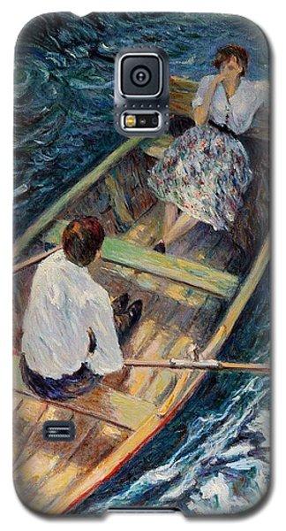Dordogne , Beynac-et-cazenac , France ,romantic Boat Trip Galaxy S5 Case