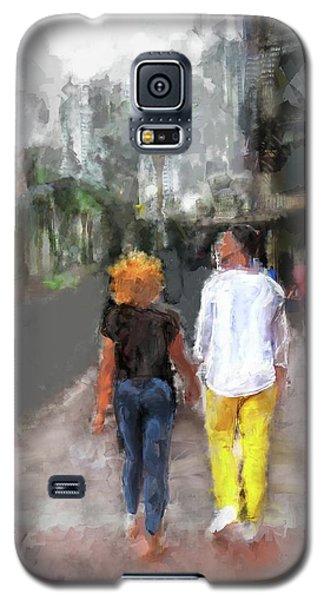 Romantic Couple Galaxy S5 Case