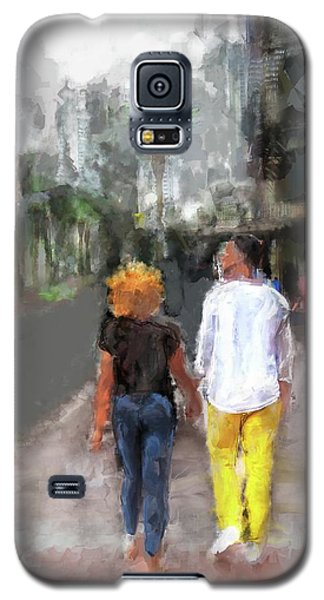 Romantic Couple Galaxy S5 Case