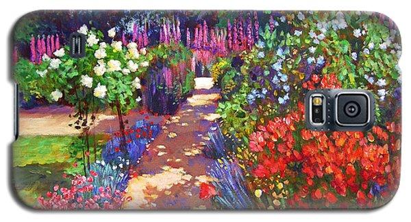 Romantic Garden Walk Galaxy S5 Case