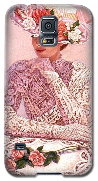 Romantic Lady Galaxy S5 Case by Sue Halstenberg