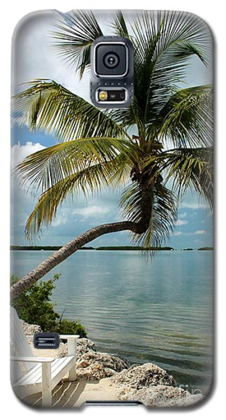 Romantic Lovers Bench Galaxy S5 Case