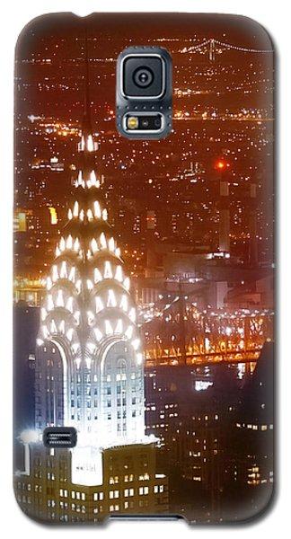 Romantic Manhattan Galaxy S5 Case