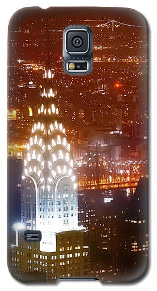 Romantic Manhattan Galaxy S5 Case by Az Jackson