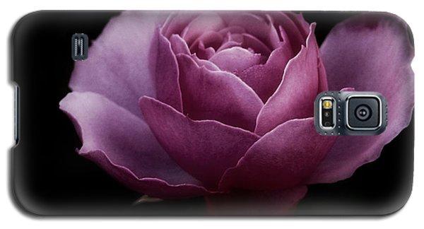 Romantic Pink December Rose Galaxy S5 Case