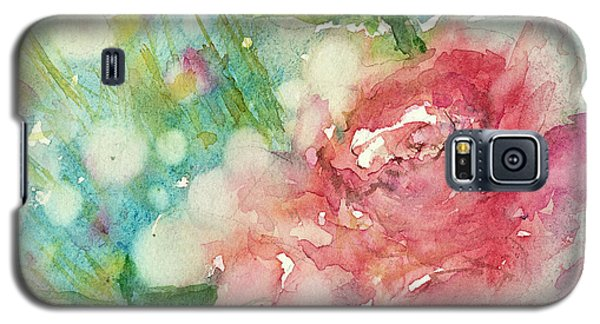 romantic Rose Galaxy S5 Case by Judith Levins