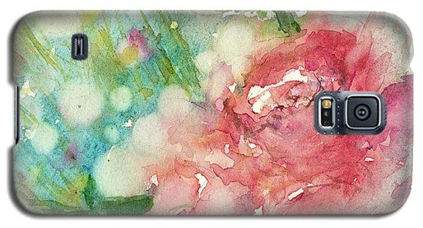 romantic Rose Galaxy S5 Case