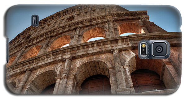 Galaxy S5 Case featuring the photograph Rome - The Colosseum 003 by Lance Vaughn