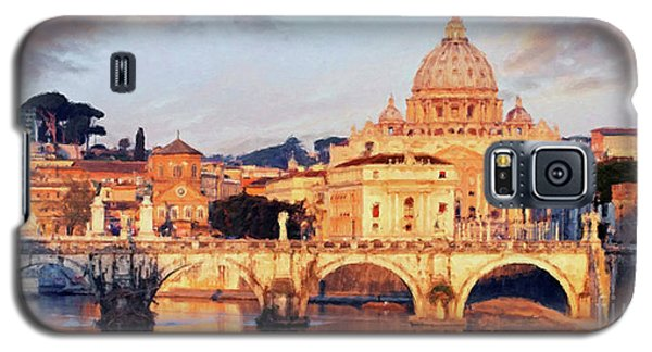 Rome The Eternal City - Saint Peter From The Tiber Galaxy S5 Case