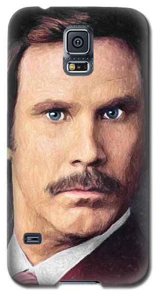 Ron Burgundy Galaxy S5 Case