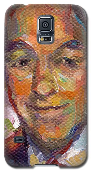Ron Paul Art Impressionistic Painting  Galaxy S5 Case