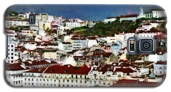 Galaxy S5 Case featuring the photograph Roofs Of Lisbon by Dariusz Gudowicz