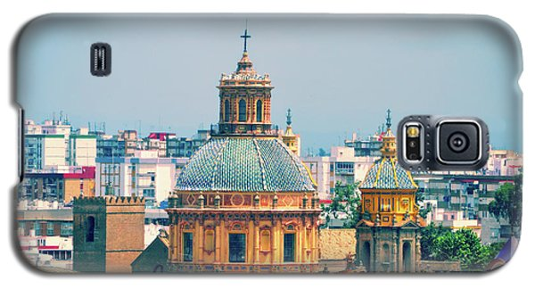 Galaxy S5 Case featuring the photograph Rooftops Of Seville - 1 by Mary Machare
