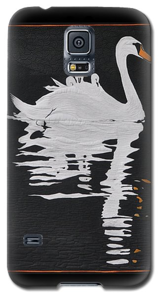 Galaxy S5 Case featuring the painting Room For One More by Jo Baner