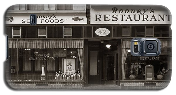 Rooney's Restaurant Wilkes Barre Pa 1940s Galaxy S5 Case