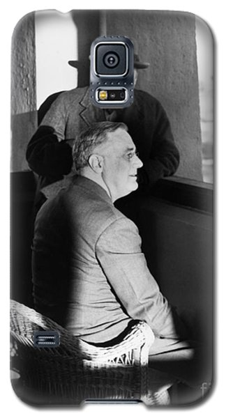 Roosevelt And Churchill Galaxy S5 Case