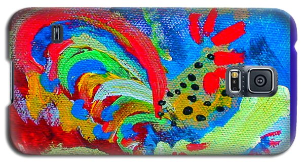Rooster In The Sky From The Fairy Queen Galaxy S5 Case by Angela Annas
