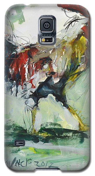 Rooster Painting Galaxy S5 Case