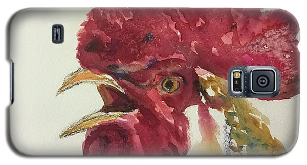 Rooster Galaxy S5 Case by Yoshiko Mishina