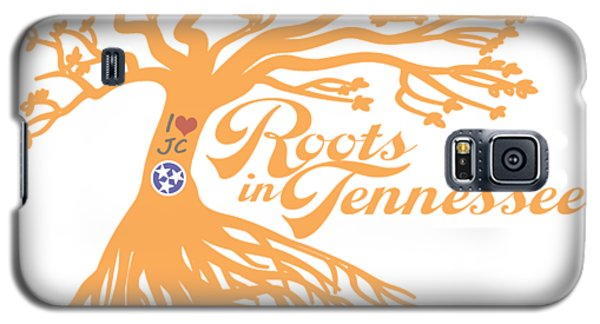 Roots In Tn Orange Galaxy S5 Case by Heather Applegate