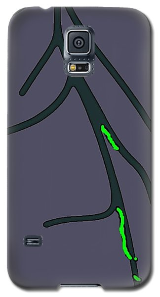 Galaxy S5 Case featuring the digital art Roots by Yshua The Painter
