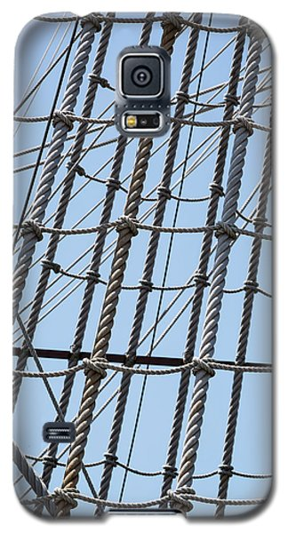 Galaxy S5 Case featuring the photograph Rope Ladder by Dale Kincaid