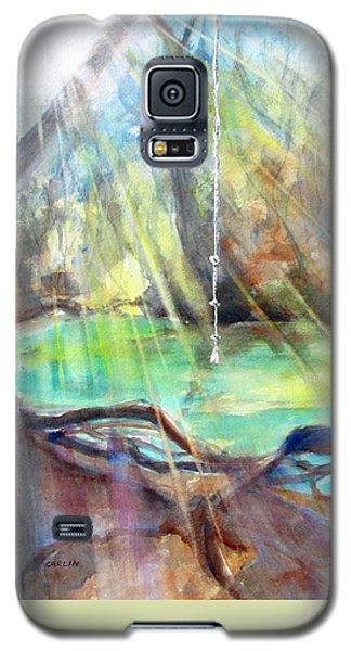 Rope Swing Galaxy S5 Case by Carlin Blahnik