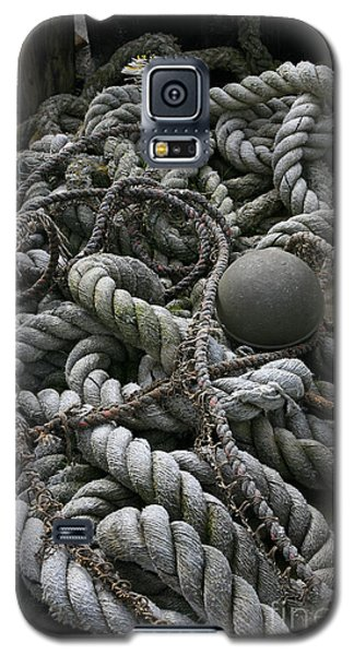 Ropes And Lines Galaxy S5 Case