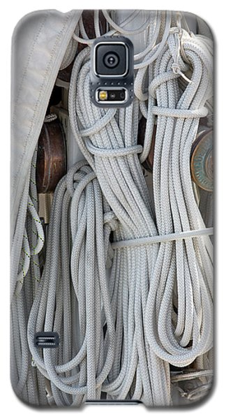 Ropes Of A Sailboat Galaxy S5 Case