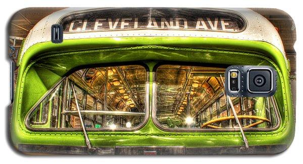 Rosa Parks Bus Dearborn Mi Galaxy S5 Case by Nicholas  Grunas
