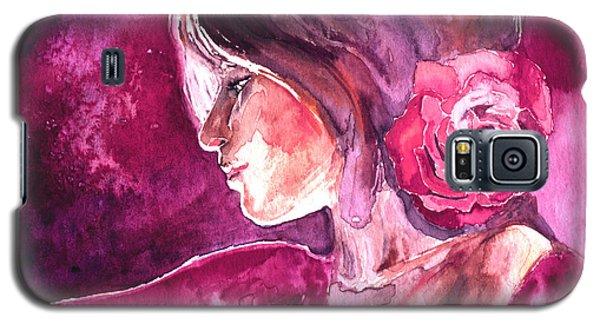 Rosa Galaxy S5 Case