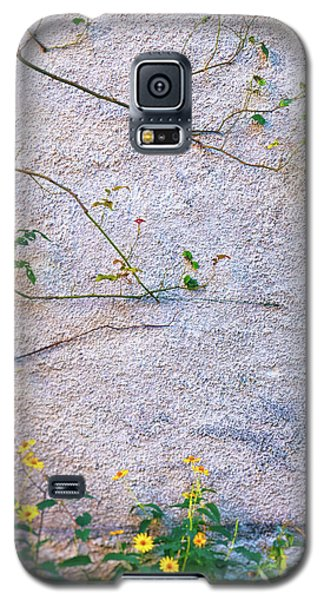 Galaxy S5 Case featuring the photograph Rose And Yellow Flowers by Silvia Ganora