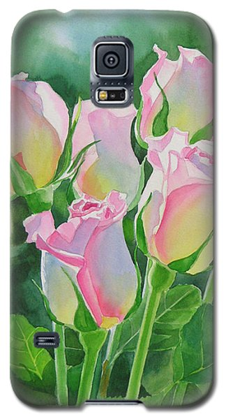 Rose Galaxy S5 Case - Rose Array by Sharon Freeman