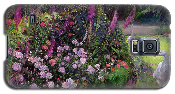 Rose Bed And Geese Galaxy S5 Case by Timothy Easton