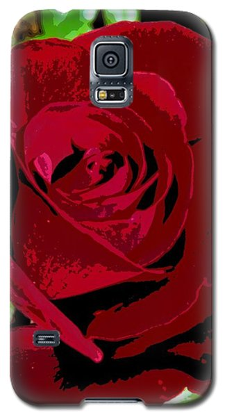 Rose Bloom Galaxy S5 Case by Matthew Bamberg