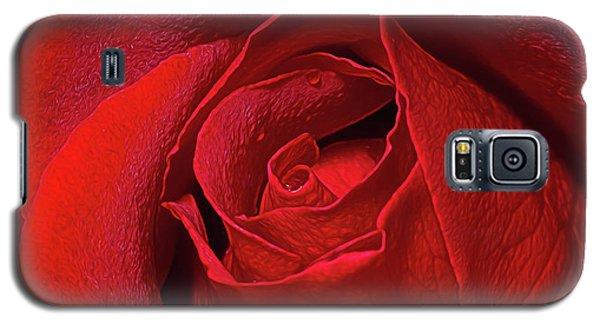 Rose Bud Galaxy S5 Case