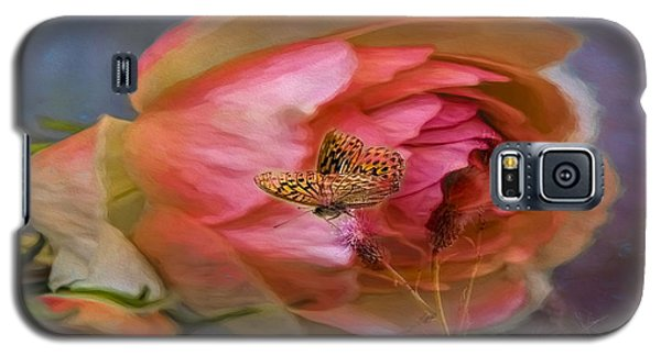Rose Buttefly Galaxy S5 Case by Leif Sohlman