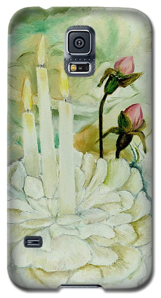 Rose Candles Galaxy S5 Case