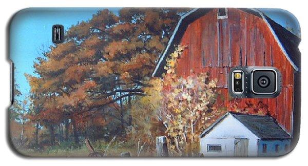 Rose Center Barn Galaxy S5 Case