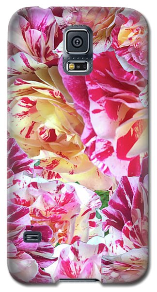 Rose Collage Galaxy S5 Case