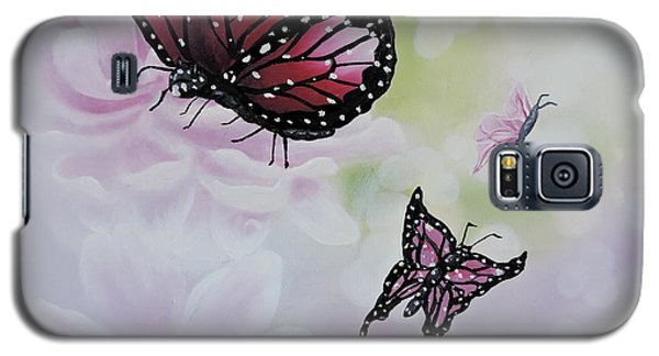 Rose Colored Glasses Galaxy S5 Case by Dianna Lewis